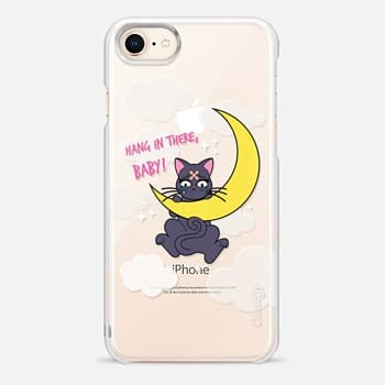 iPhone 8 Case Hang In There, Baby - Luna, Sailor Moon, Cat