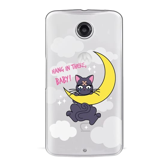 Hang In There, Baby - Luna, Sailor Moon, Cat
