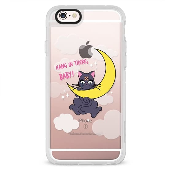 iPhone 4 Cases - Hang In There, Baby - Luna, Sailor Moon, Cat