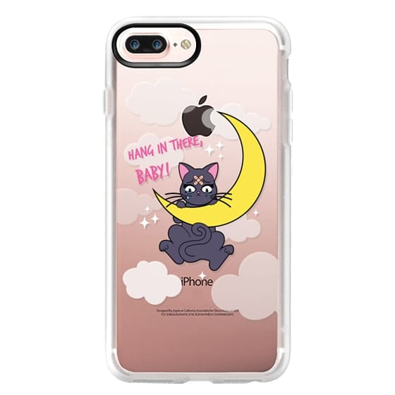 iPhone 7 Plus Cases - Hang In There, Baby - Luna, Sailor Moon, Cat