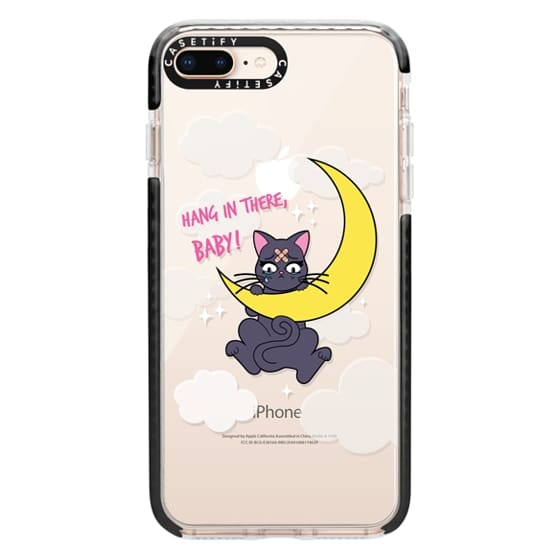 iPhone 8 Plus Cases - Hang In There, Baby - Luna, Sailor Moon, Cat