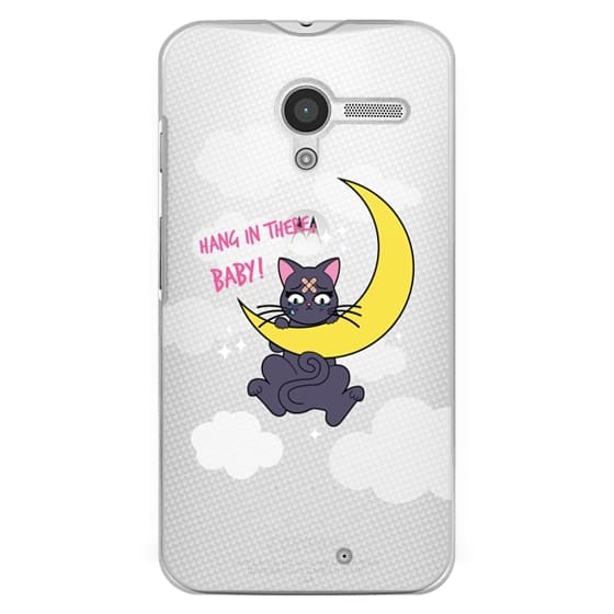 Moto X Cases - Hang In There, Baby - Luna, Sailor Moon, Cat