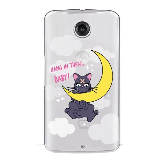Nexus 6 Cases - Hang In There, Baby - Luna, Sailor Moon, Cat