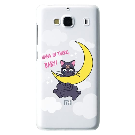 Redmi 2 Cases - Hang In There, Baby - Luna, Sailor Moon, Cat