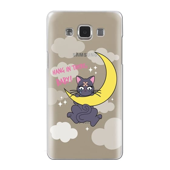 Samsung Galaxy A5 Cases - Hang In There, Baby - Luna, Sailor Moon, Cat
