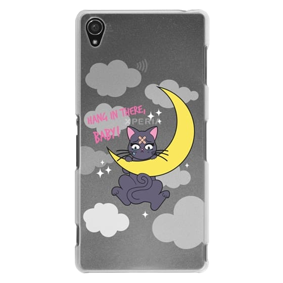 Sony Z3 Cases - Hang In There, Baby - Luna, Sailor Moon, Cat