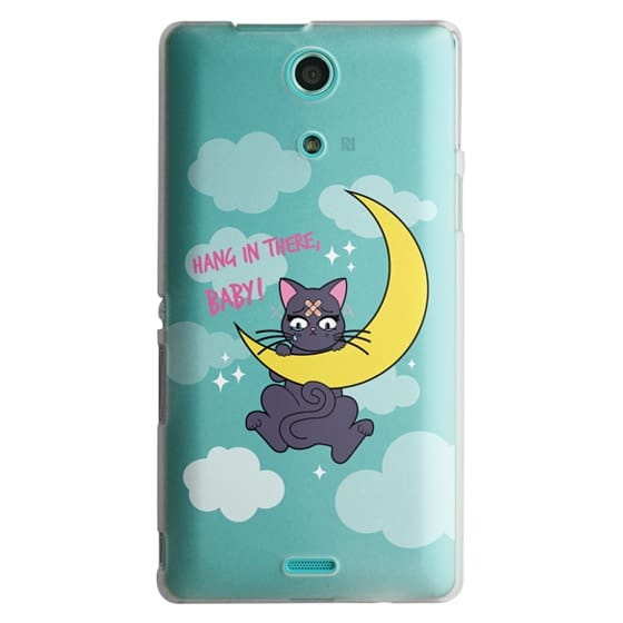 Sony Zr Cases - Hang In There, Baby - Luna, Sailor Moon, Cat
