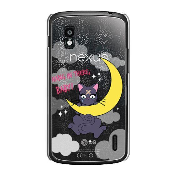 Nexus 4 Cases - Hang In There, Baby - Luna, Sailor Moon, Cat