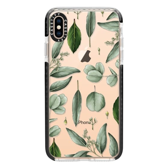 iPhone XS Max Cases - Greenery