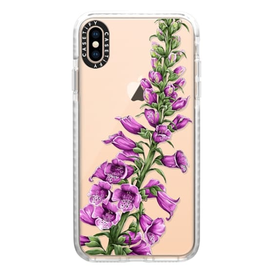 iPhone XS Max Cases - foxglove