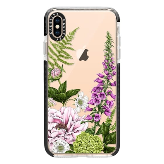 iPhone XS Max Cases - Summer garden