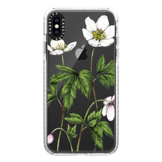 iPhone XS Max Cases - Anemone
