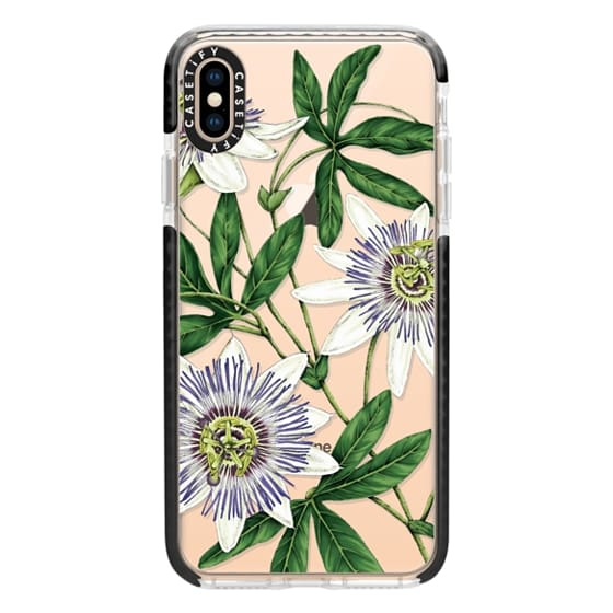 iPhone XS Max Cases - passion flower