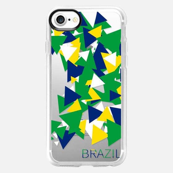 Olympics Brazil Triangles - Wallet Case