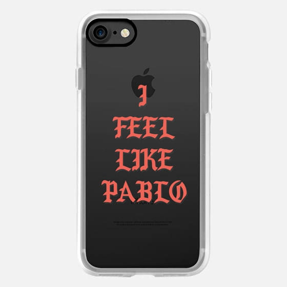 I FEEL LIKE PABLO - KANYE WEST TLOP TRANSPARENT -