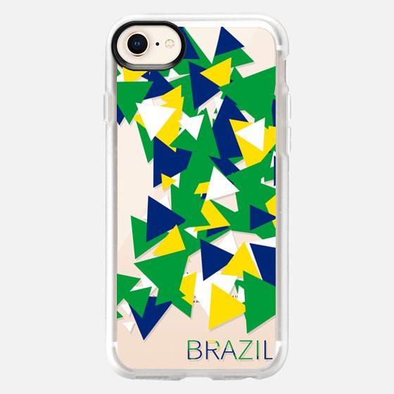Olympics Brazil Triangles - Snap Case