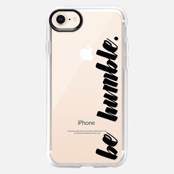 be humble. black - Snap Case