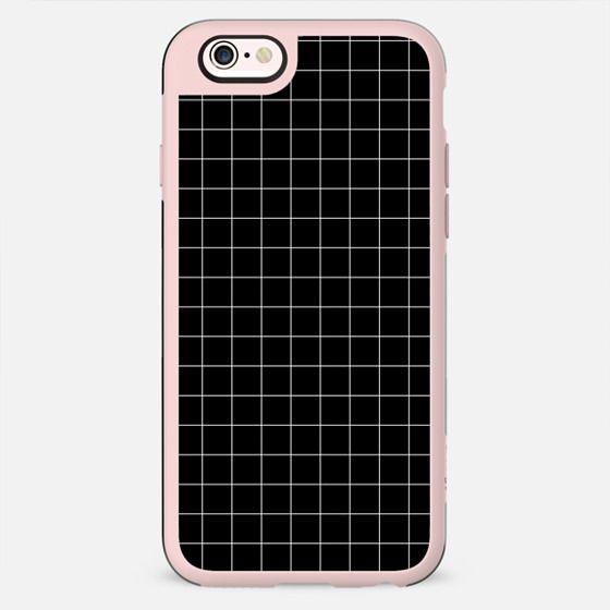 Tiny Grid Dark Black - New Standard Case