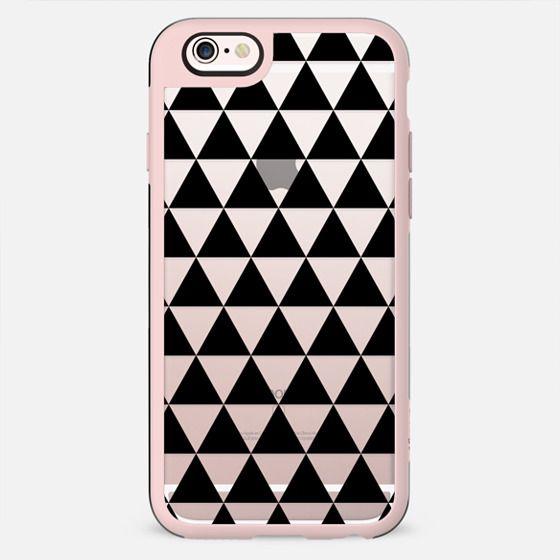 Triangles Transparent 2 - New Standard Case