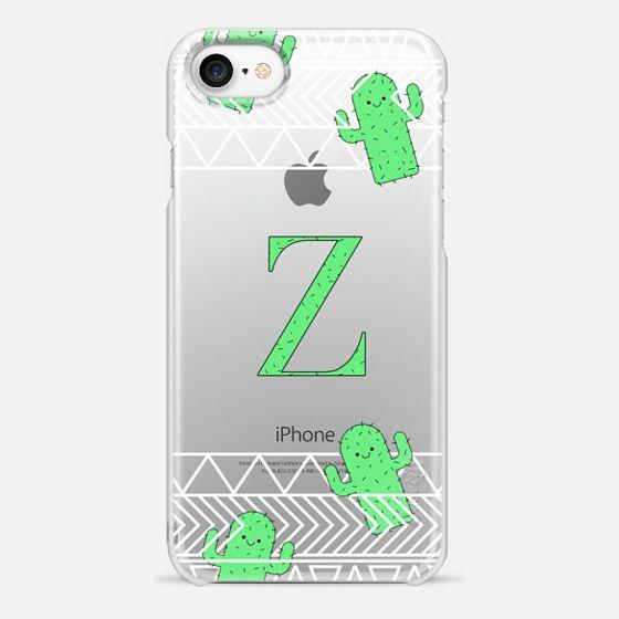 Z - tribal cacti monogram - Snap Case