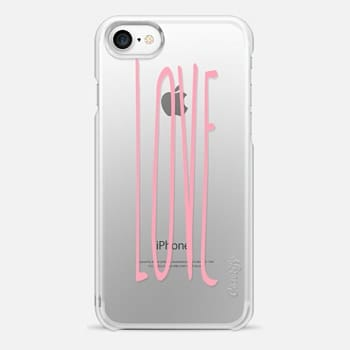iPhone 7 Case LOVE PINK