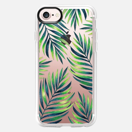 Tropical leaves. Watercolor - Wallet Case
