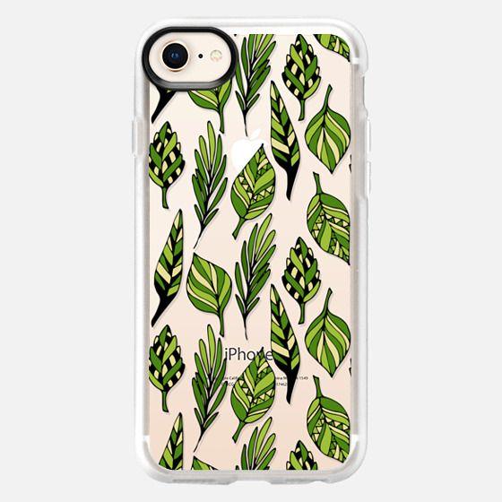 Ethnic leaf pattern - Snap Case