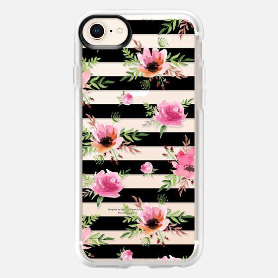 Floral pattern. Watercolor - Snap Case