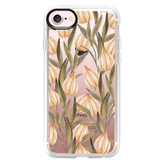 iPhone 7 Plus Cases - Winter cherry. Watercolor