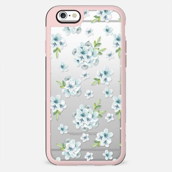 Blue flowers. Delicate art - New Standard Case