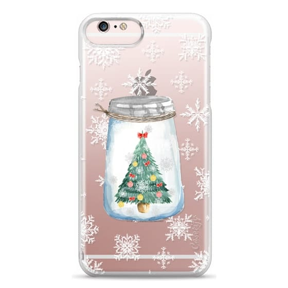 iPhone 6s Plus Cases - Christmas glass jar with tree