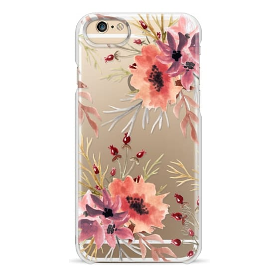 iPhone 4 Cases - Autumn flowers- Watercolor