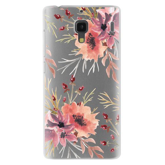 Redmi 1s Cases - Autumn flowers- Watercolor