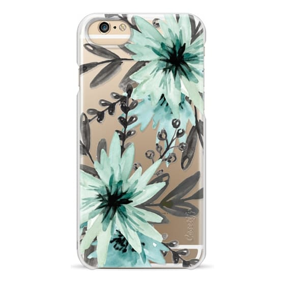 iPhone 6s Cases - Blue asters. Watercolor