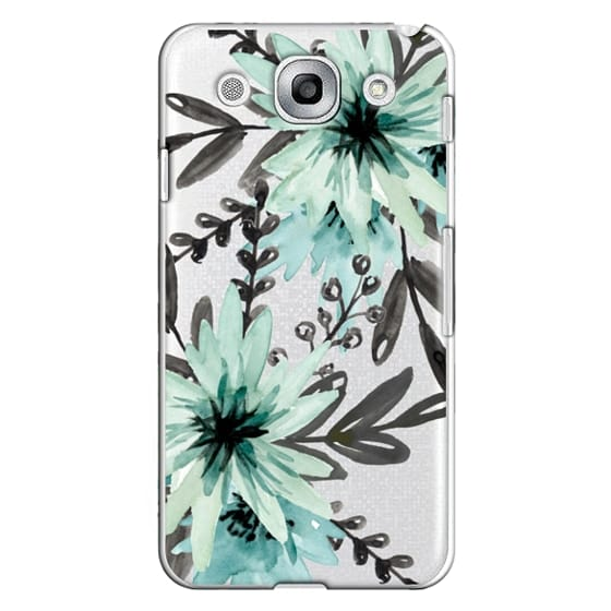 Optimus G Pro Cases - Blue asters. Watercolor