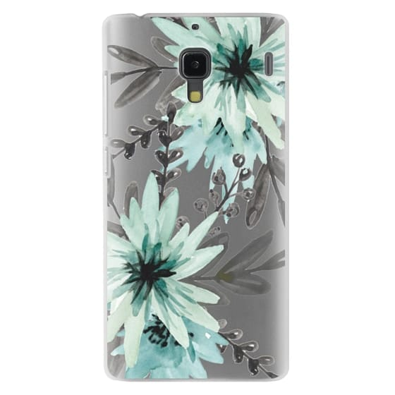 Redmi 1s Cases - Blue asters. Watercolor