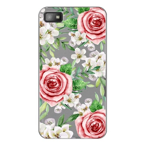Blackberry Z10 Cases - Red roses. Watercolor.