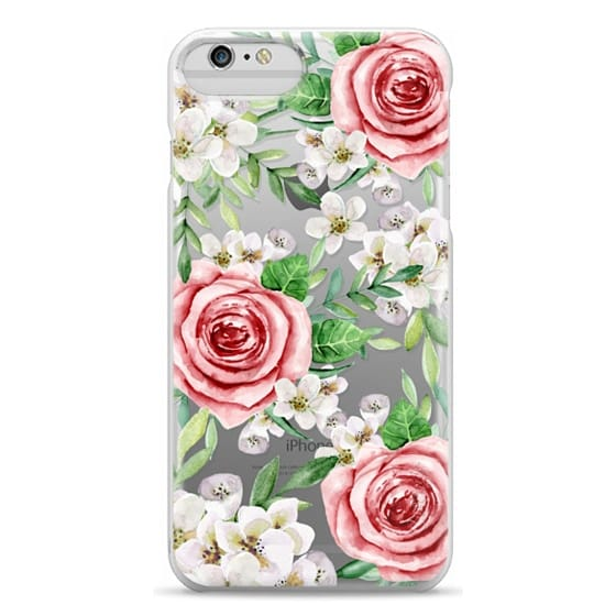 iPhone 6 Plus Cases - Red roses. Watercolor.