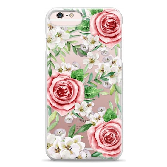iPhone 6s Plus Cases - Red roses. Watercolor.