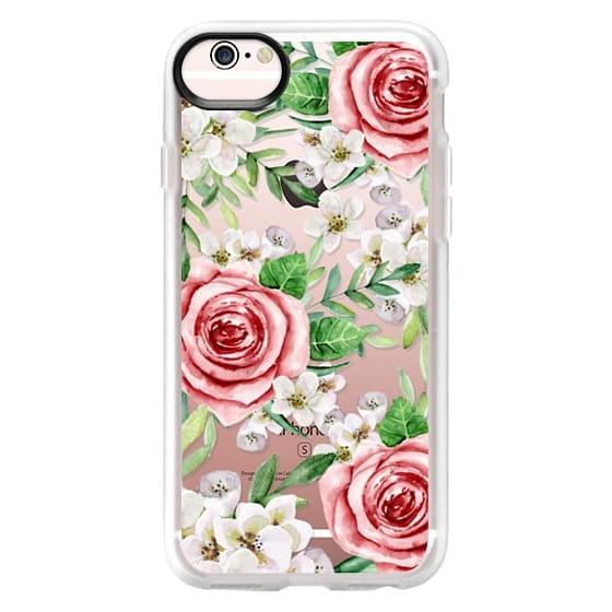 iPhone 6s Cases - Red roses. Watercolor.
