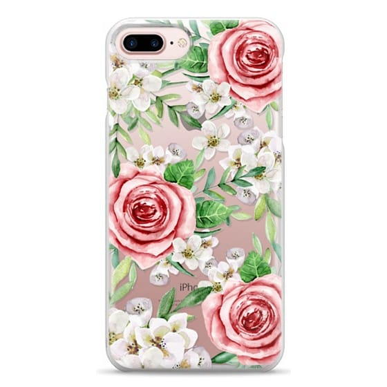 iPhone 7 Plus Cases - Red roses. Watercolor.