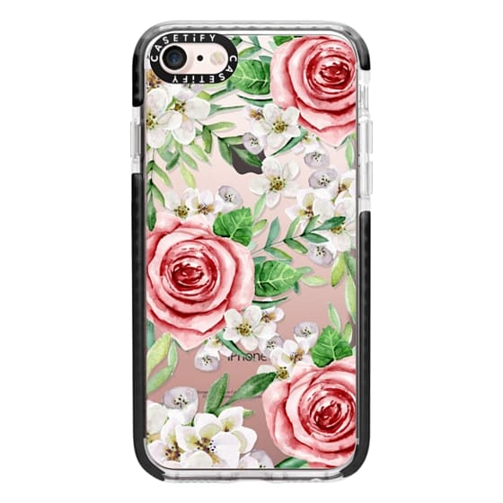 iPhone 7 Cases - Red roses. Watercolor.