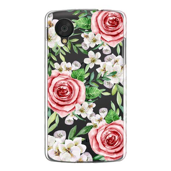 Nexus 5 Cases - Red roses. Watercolor.