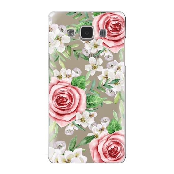 Samsung Galaxy A5 Cases - Red roses. Watercolor.