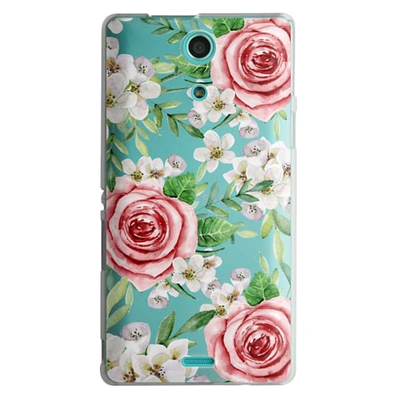 Sony Zr Cases - Red roses. Watercolor.