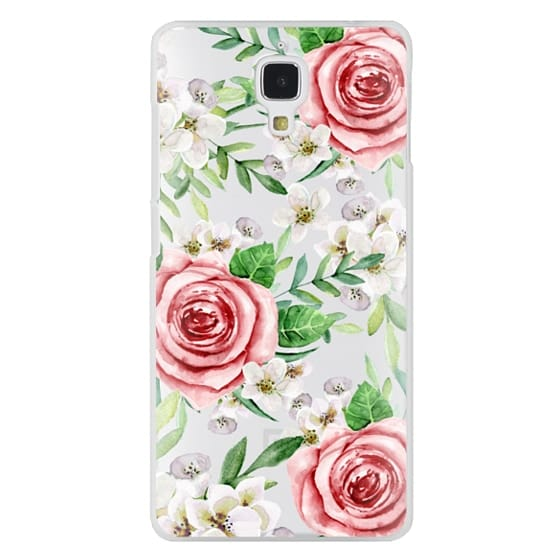 Xiaomi 4 Cases - Red roses. Watercolor.