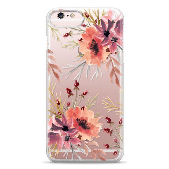 iPhone 6s Plus Cases - Autumn flowers- Watercolor