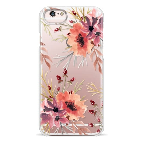 iPhone 6s Cases - Autumn flowers- Watercolor
