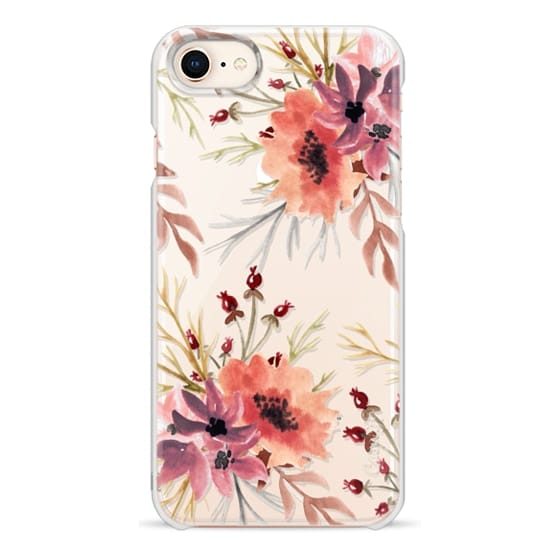 iPhone 8 Cases - Autumn flowers- Watercolor