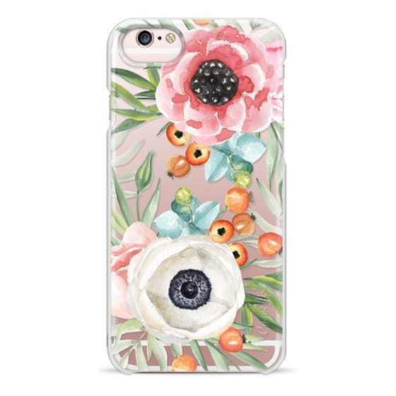 iPhone 6s Cases - Watercolor flowers and berries